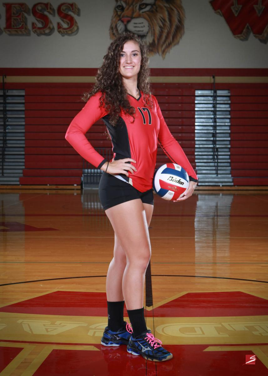 Individual Sports Portrait - CyWoods Volleyball