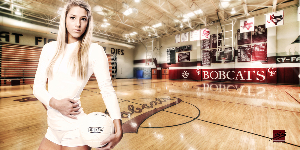 HDR Sports Portrait - Cy-Fair Volleyball