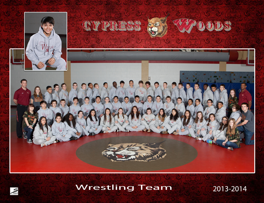 Team Sports Portrait - CyWoods Wrestling