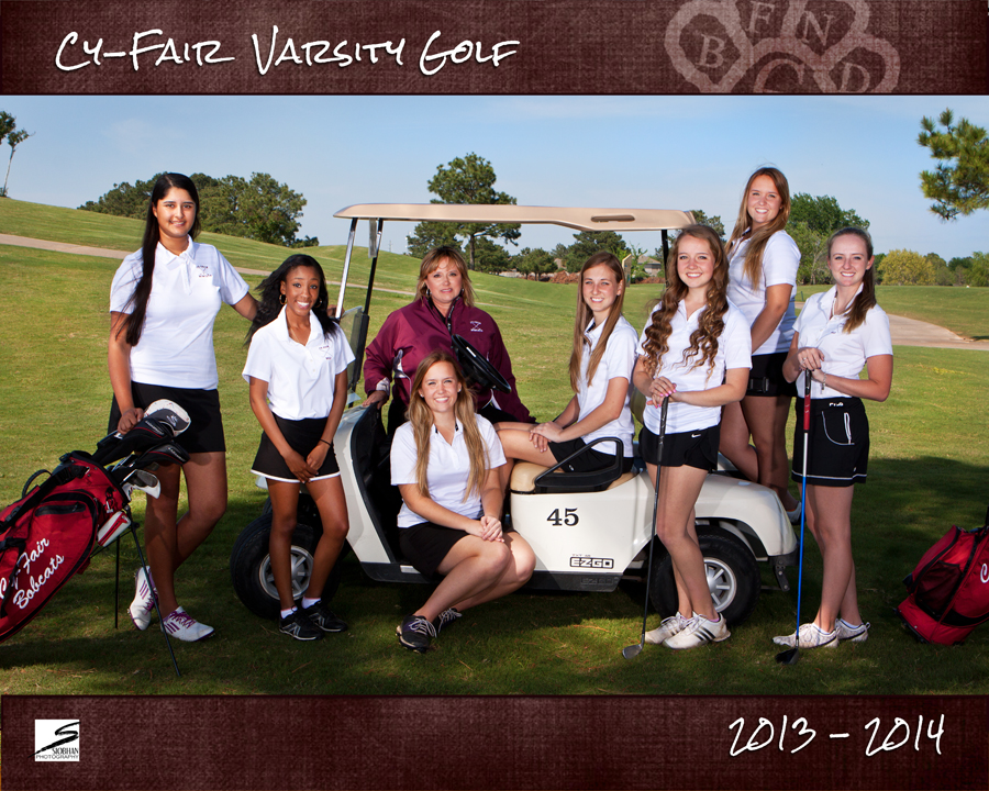 Sports Team Portrait - Cy-Fair Varsity Golf