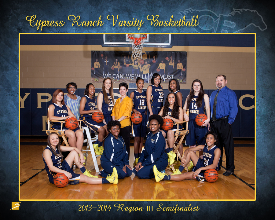 Team Sports Portrait - CyRanch Basketball