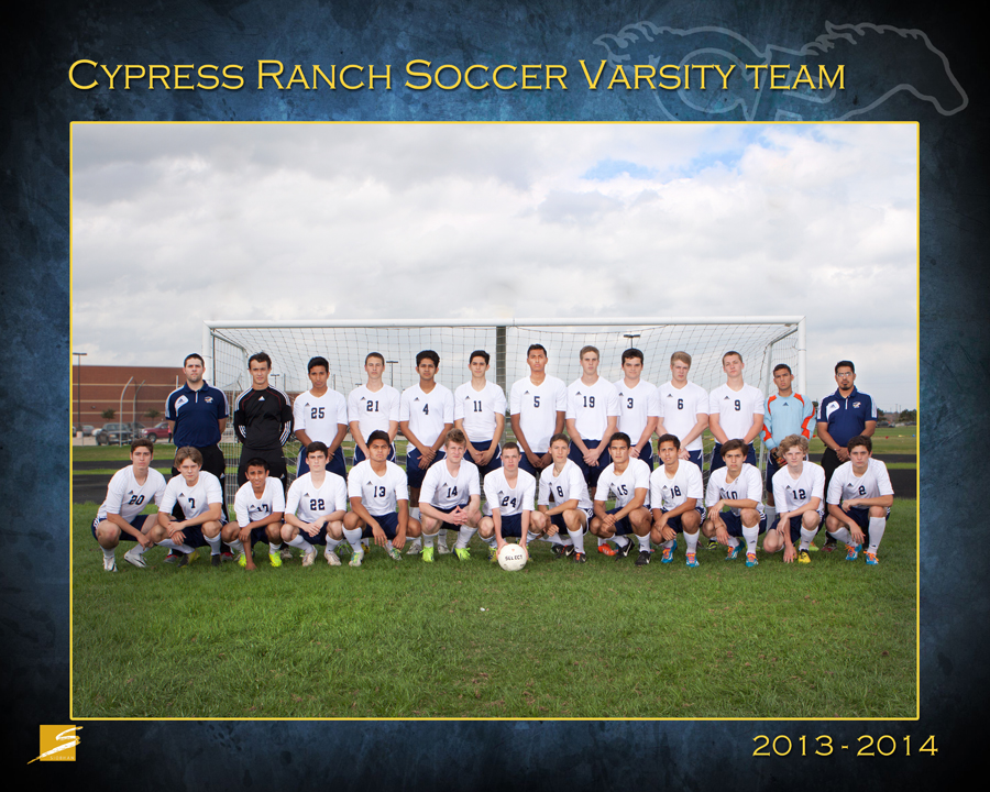 Team Sports Portrait - CyRanch Soccer