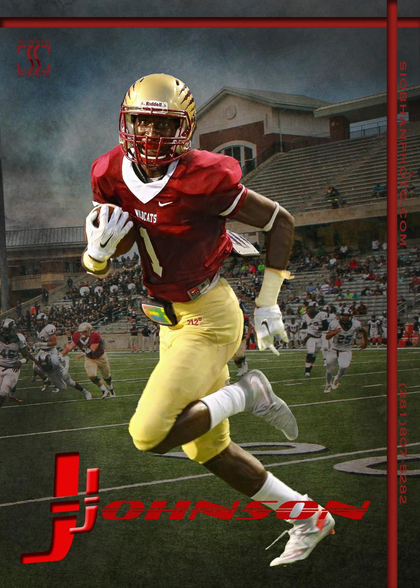 Sports Action Poster - CyWoods Football