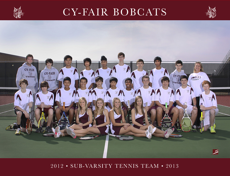 Team Sports Portrait - Cy-Fair Tennis