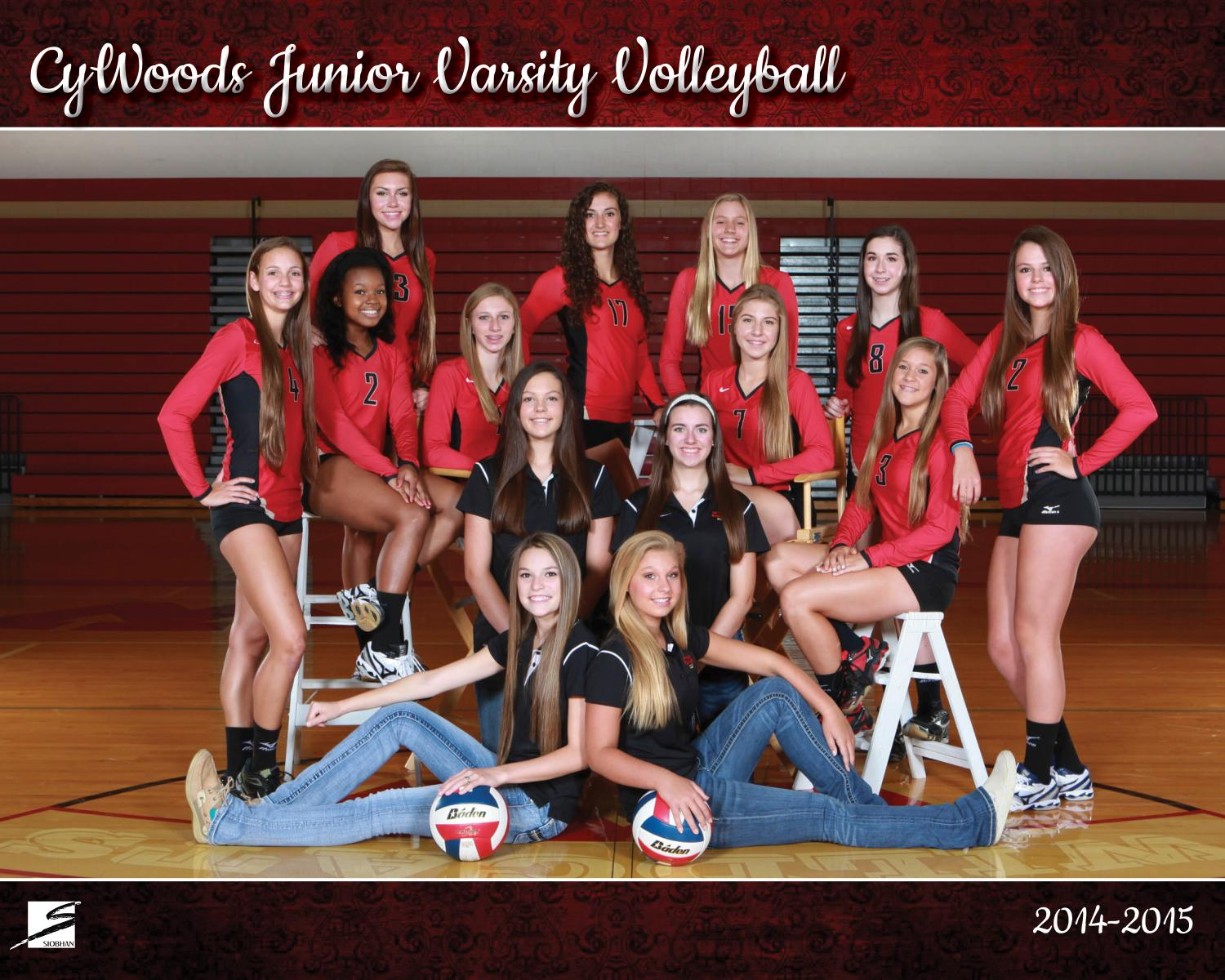 Team Sports Portrait - CyWoods Volleyball