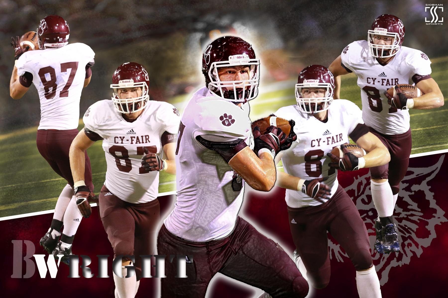 Sports Action Poster - Cy-Fair Football
