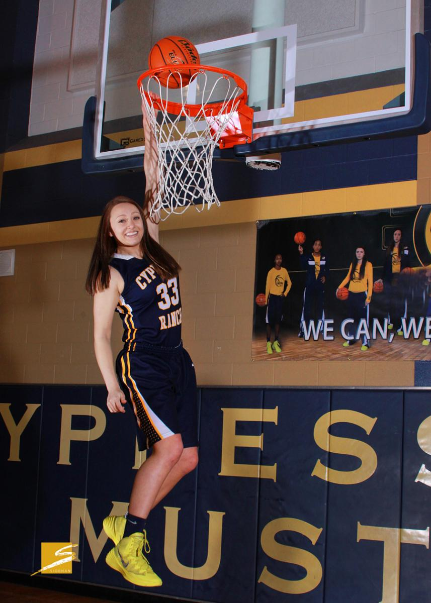 Individual Sports Portrait - CyRanch Basketball