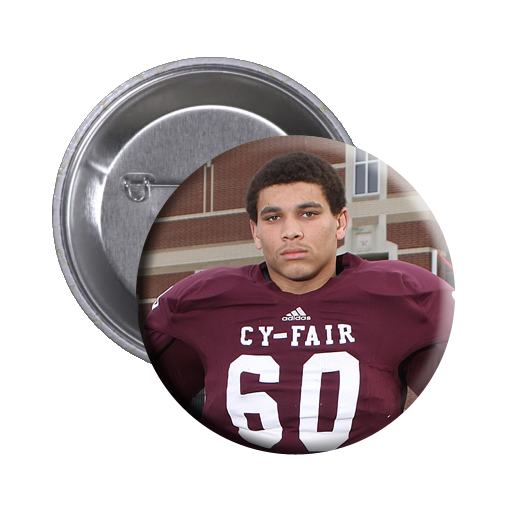 Individual Sports Portrait Buttons - Cy-Fair Football
