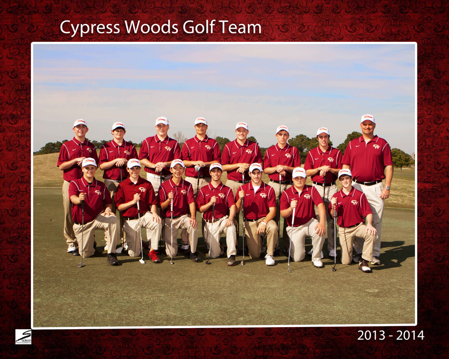 Sports Team Portrait - CyWoods Golf